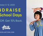 Fundraising with Tea Collection School Days Fall 2020