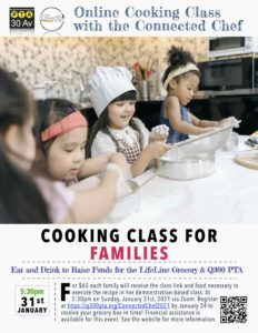 Online Cooking Classes with the Connected Chef